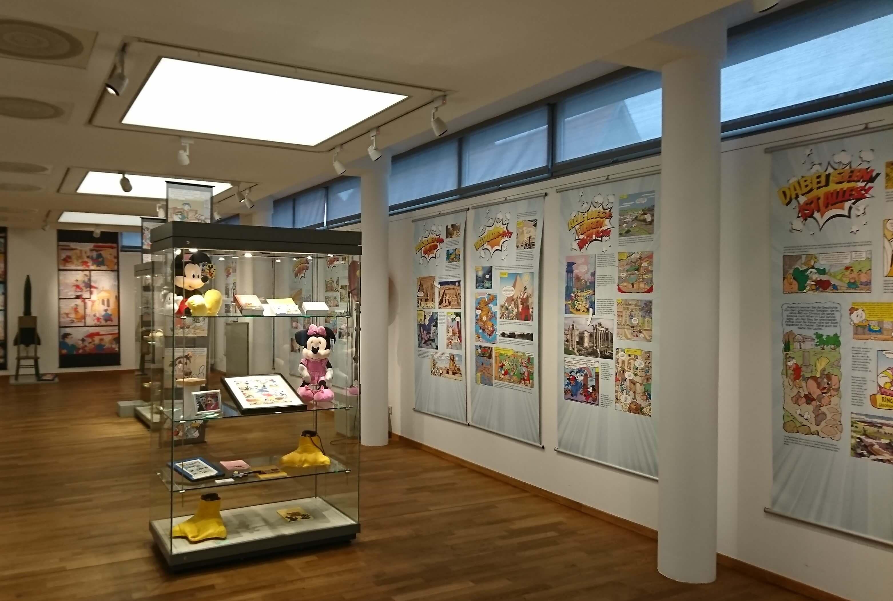 Ausstellungsraum im Museum Schloss Fechenheim in Dieburg bei dr Ausstellung Entike