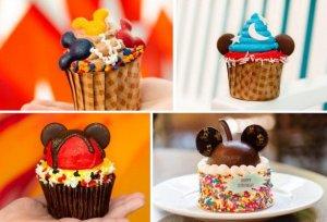 Snacks zu Mickey Mouse Geburtstag in den Disney Hotels