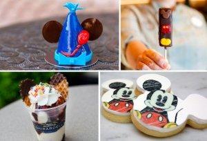 Köstliche Süßigkeiten zu Mickys Geburtstag