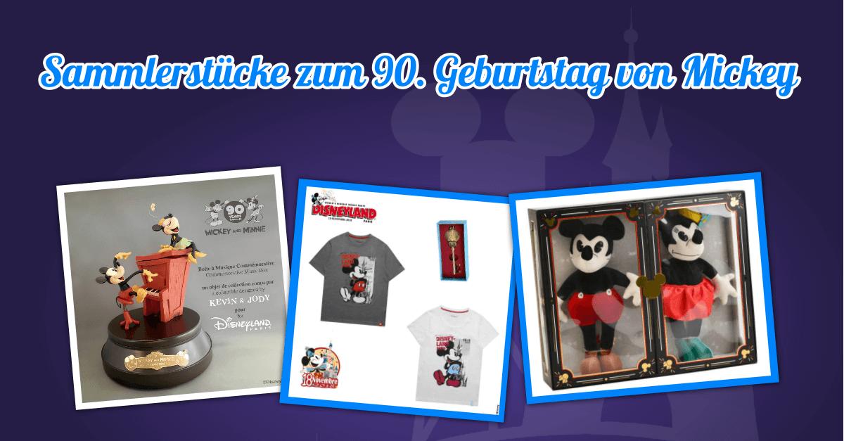 Sammlerstücke zum 20. Geburtstag von Mickey Mouse