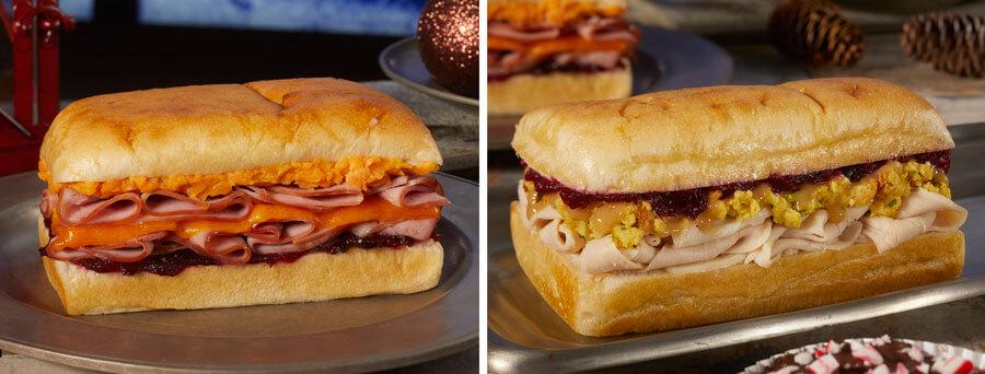 zwei Sandwiches