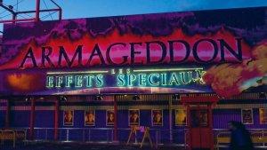 Armageddon, eine Attraktion der Walt Disney Studios in Paris