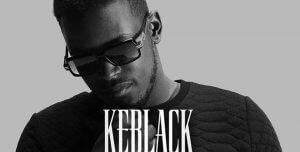 Ein Cover Foto von dem französischen Rapper Keblack