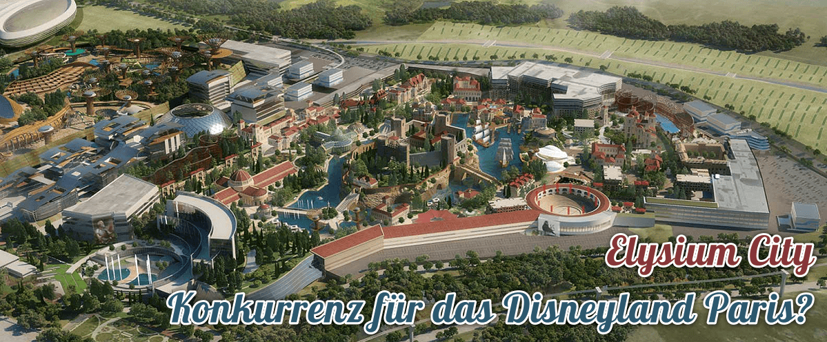 Elysium City – neue Konkurrenz für das Disneyland Paris in Spanien?