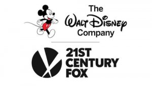 Das The Walt Disney Company und Twenty First Century Firmenlogo
