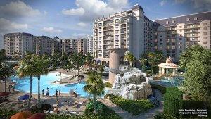 Das Foto zeig die neuen Pools des Riviera Resorts
