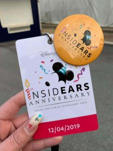 Badge des InsidEars Events am 12. April 2017: 1st InsidEars Anniversary
