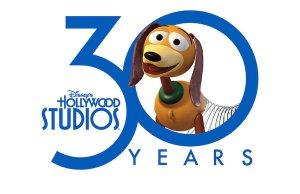 Das offizielle Logo für das 30 Jubiläum des Hollywood Studios Parks