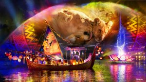 Neue überarbeitete Rivers of Light Show im Animal Kingdom