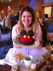 Geburtstagskuchen in der Auberge de Cendrillon