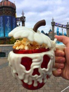 Beliebter Snack im Disneyland: Popcorn