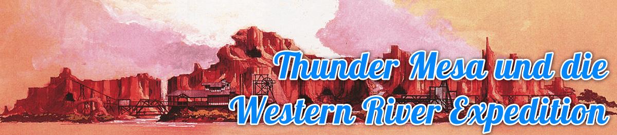 Concept Art der Fassade von Thunder Mesa, angelehnt an das Monument Valle