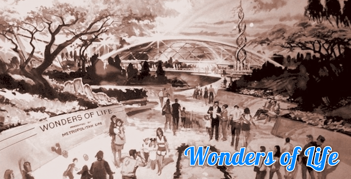 Wonders of Life - Concept Art des ehemaligen Pavillons aus Epcots Future World