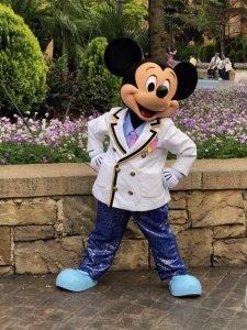 Mickey Mouse beim Meet & Greet in Tokio Disney