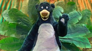 Balu aus dem Dschungelbuch im Disneyland Paris