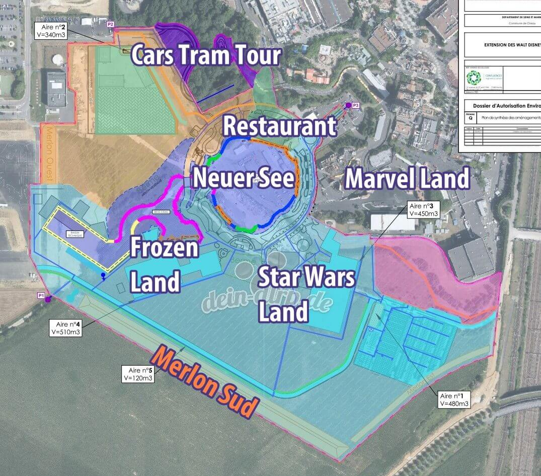 Erweiterung der Walt Disney Studios in Paris im Detail