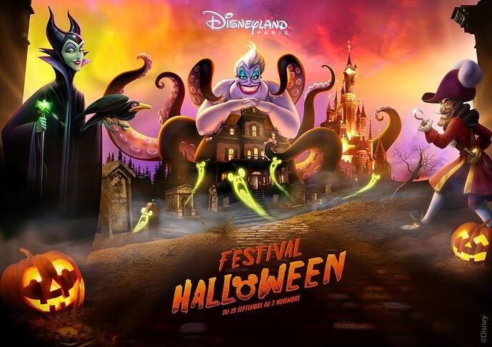 Halloween Saison 2019 in Disneyland Paris