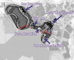 Neue Hauptstraße im Walt Disney Studios Park