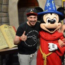 Holger mit Sorcerer Mickey