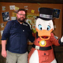 Torsten mit Scrooge McDuck