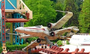 Star Fighter in Disneyland Parc