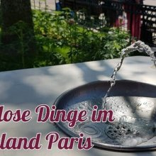 ein Wasserspender in Disneyland Paris