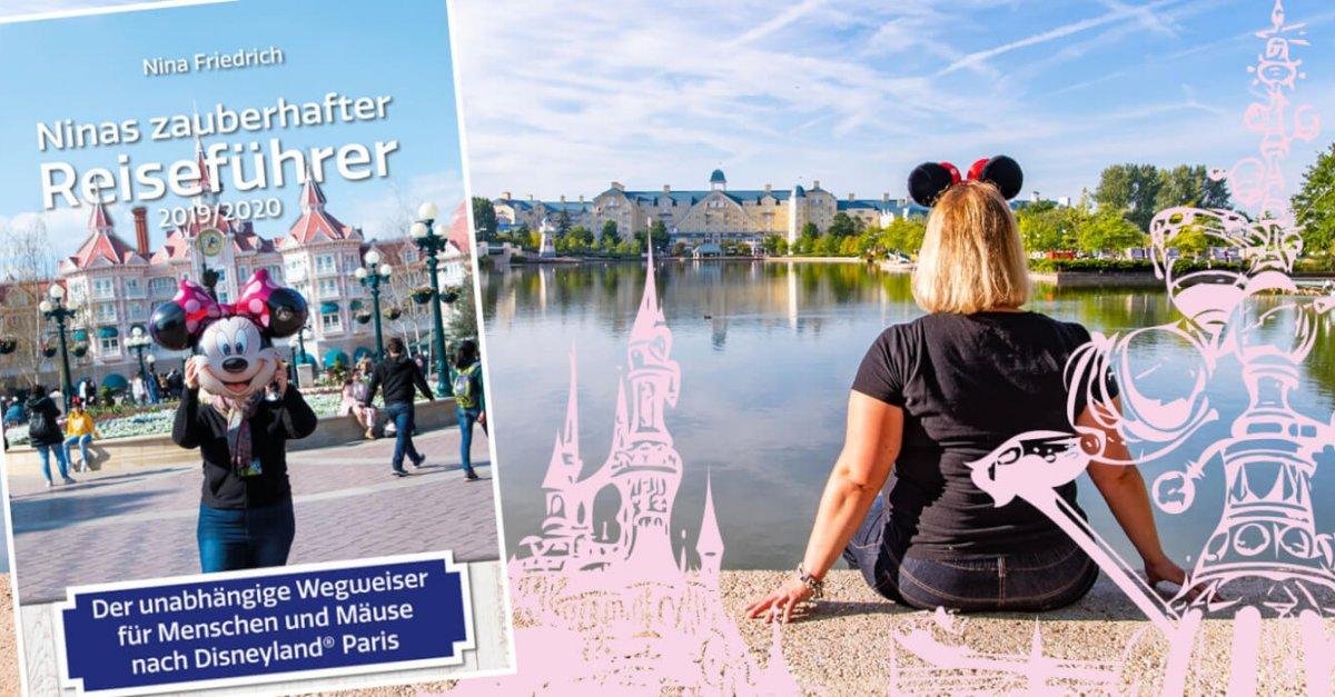 Buch und Blick über Lake Disney