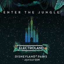 Electroland Plakat im Dschungel-Stil
