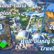 Disneyland Paris Masterplan zur Walt Disney Studios Erweiterung