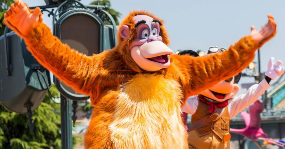 King Louie beim Jungle Book Jive