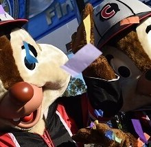 Chip und Dale beim RunDisney in Walt Disney World