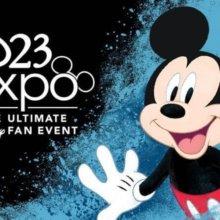 Mickey auf Banner der D23 Expo
