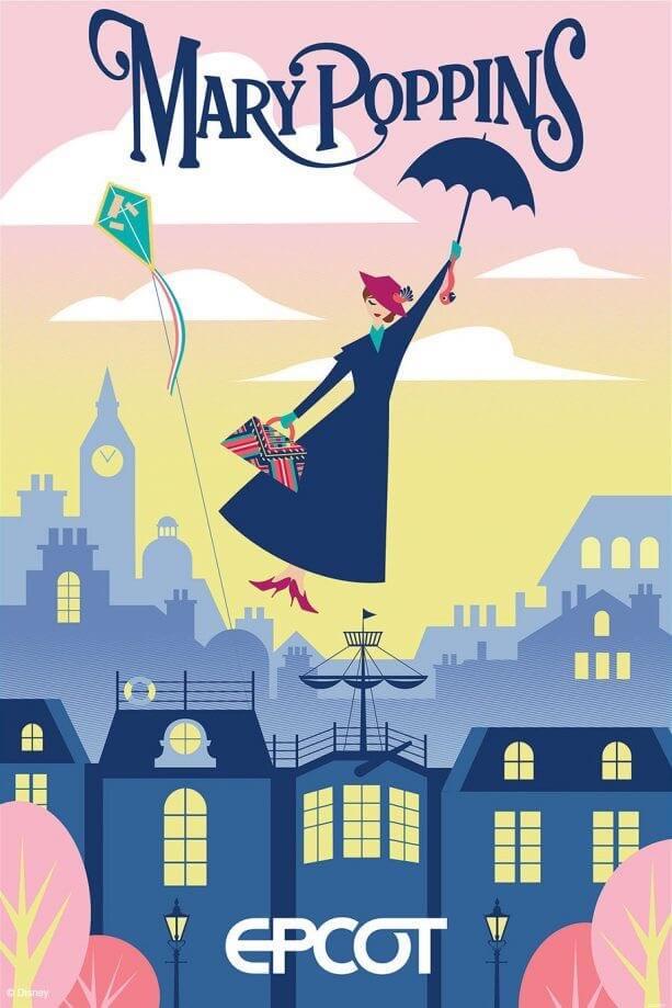 Concept Art für Mary Poppin