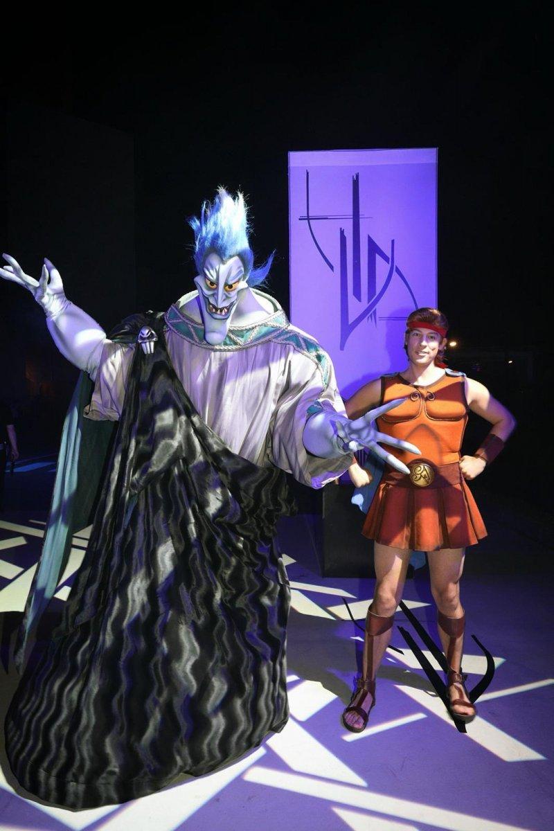 Hades und Hercules aus dem Disneyfilm Hercules.