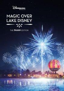 Frozen Feuerwerk am Lake Disney
