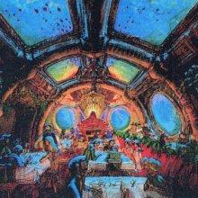 Restaurant im U-Boot Nautilus mit Ausblick auf die Unterwasserwelt