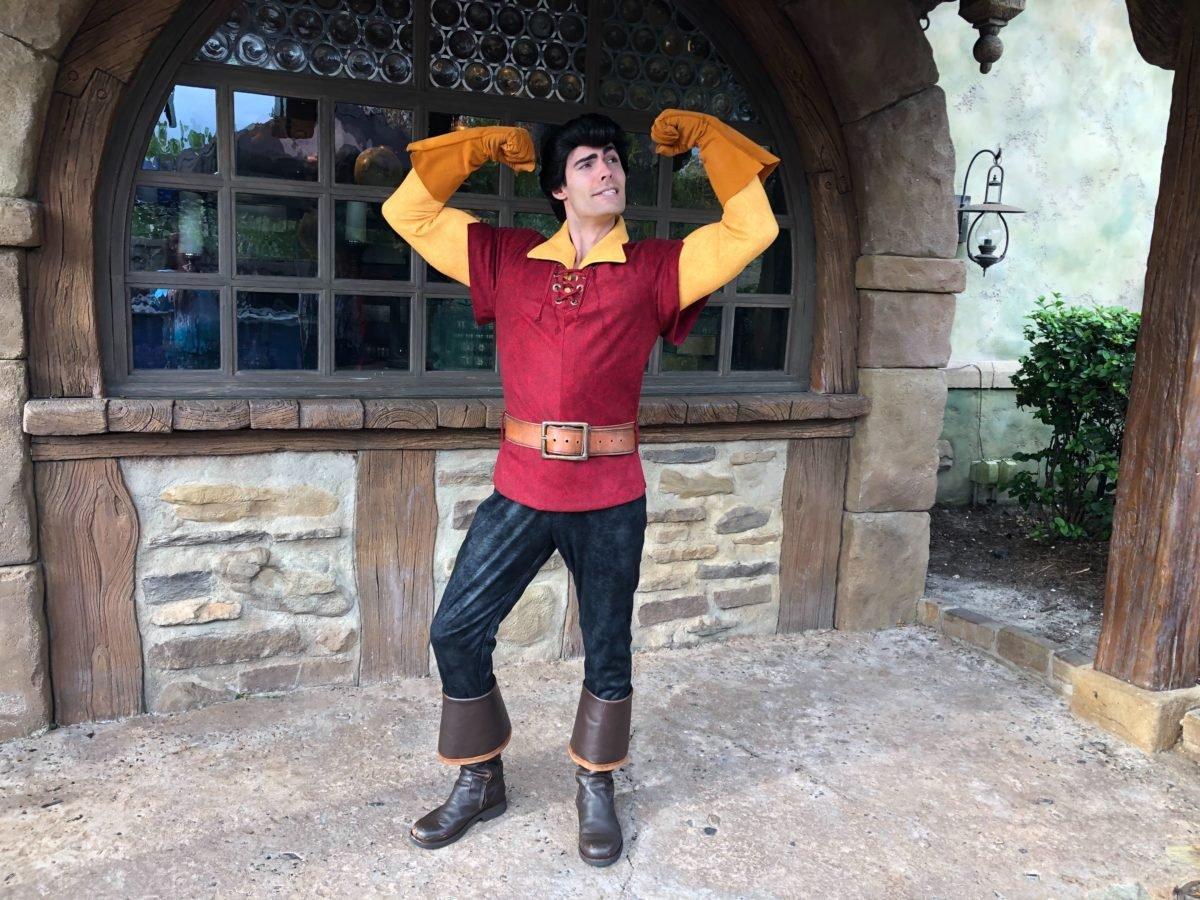Gaston posiert für einen Fotografen