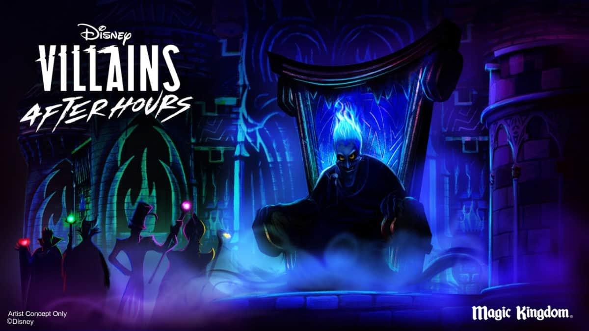 Werbebild für die Disney Villain After Hours