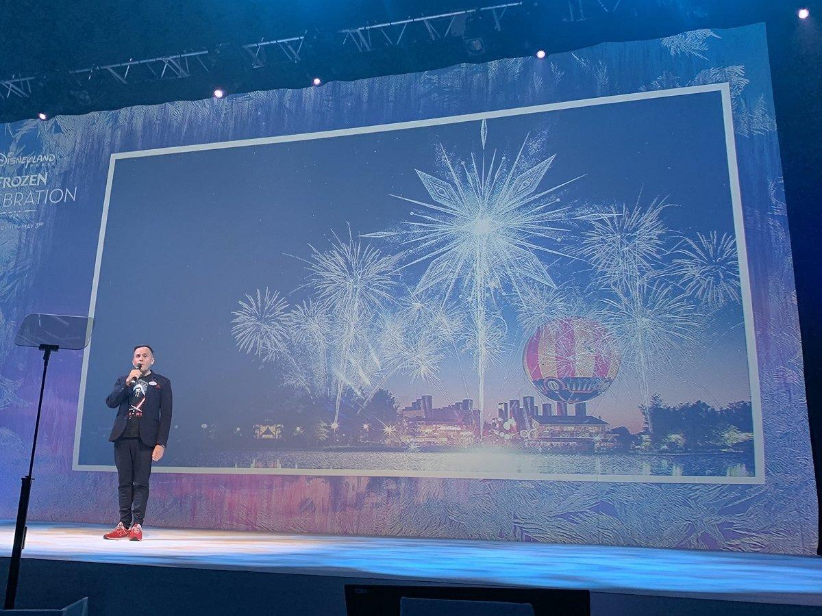 Präsentation der neuen Frozen Saison in Disneyland Paris bei der Pressekonferenz