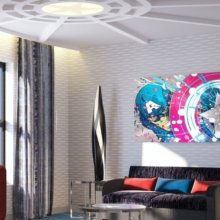 Neue Details zu Disney's Hotel New York - The Art of Marvel!