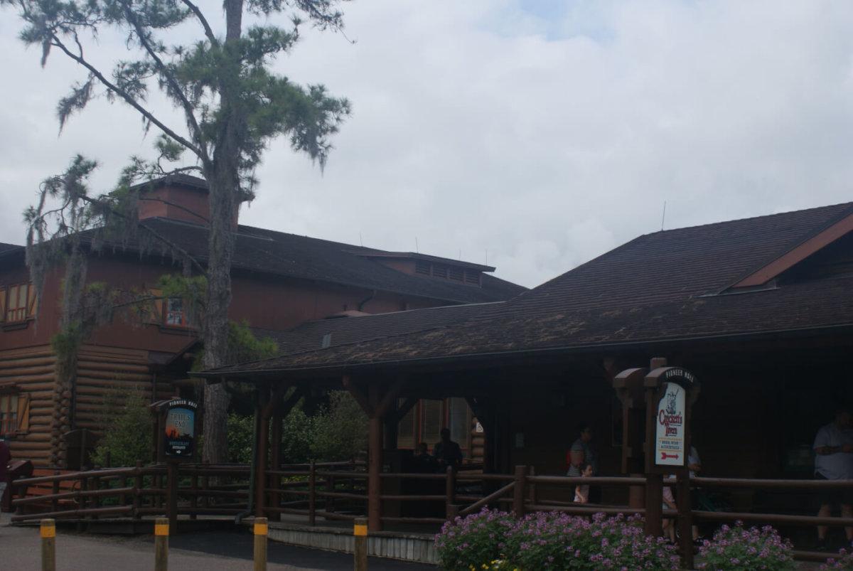 Außenbereich des Trail's End Restaurants