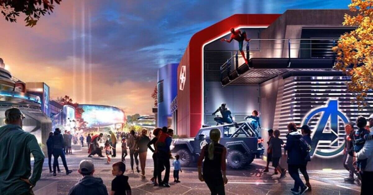 Marvel: Avengers Campus in Disneyland