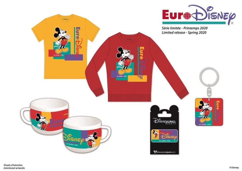 Retro Kollektion Euro Disney