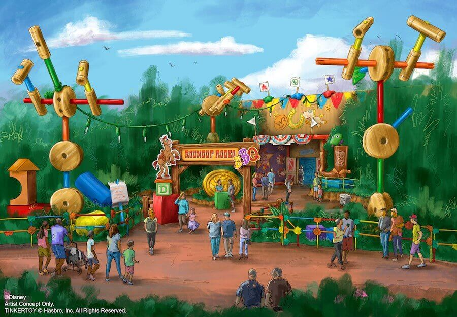 Roundup Rodeo BBQ Restaurant im Toy Story Land