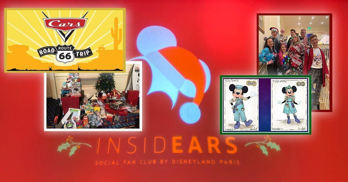 Disneyland Paris InsidEars Weihnachtsparty News