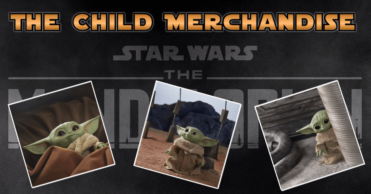 Star Wars: The Mandalorian - The Child/Baby Yoda verschiedenes Spielzeug