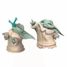 Baby Yoda Sammelfiguren aus dem Set