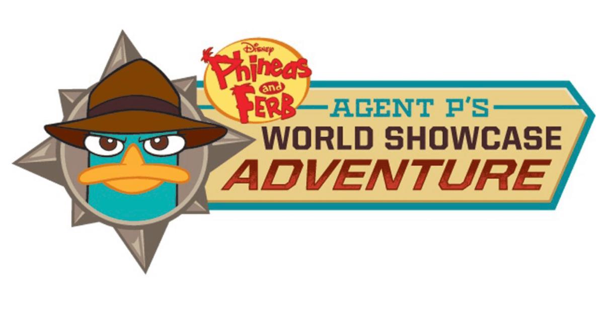 Agent P´s Adventure Schriftzug