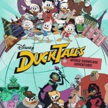 Poster mit den DuckTales und Epcot Schriftzug