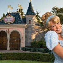 Cinderella vor dem Prinzessinnenpavillion